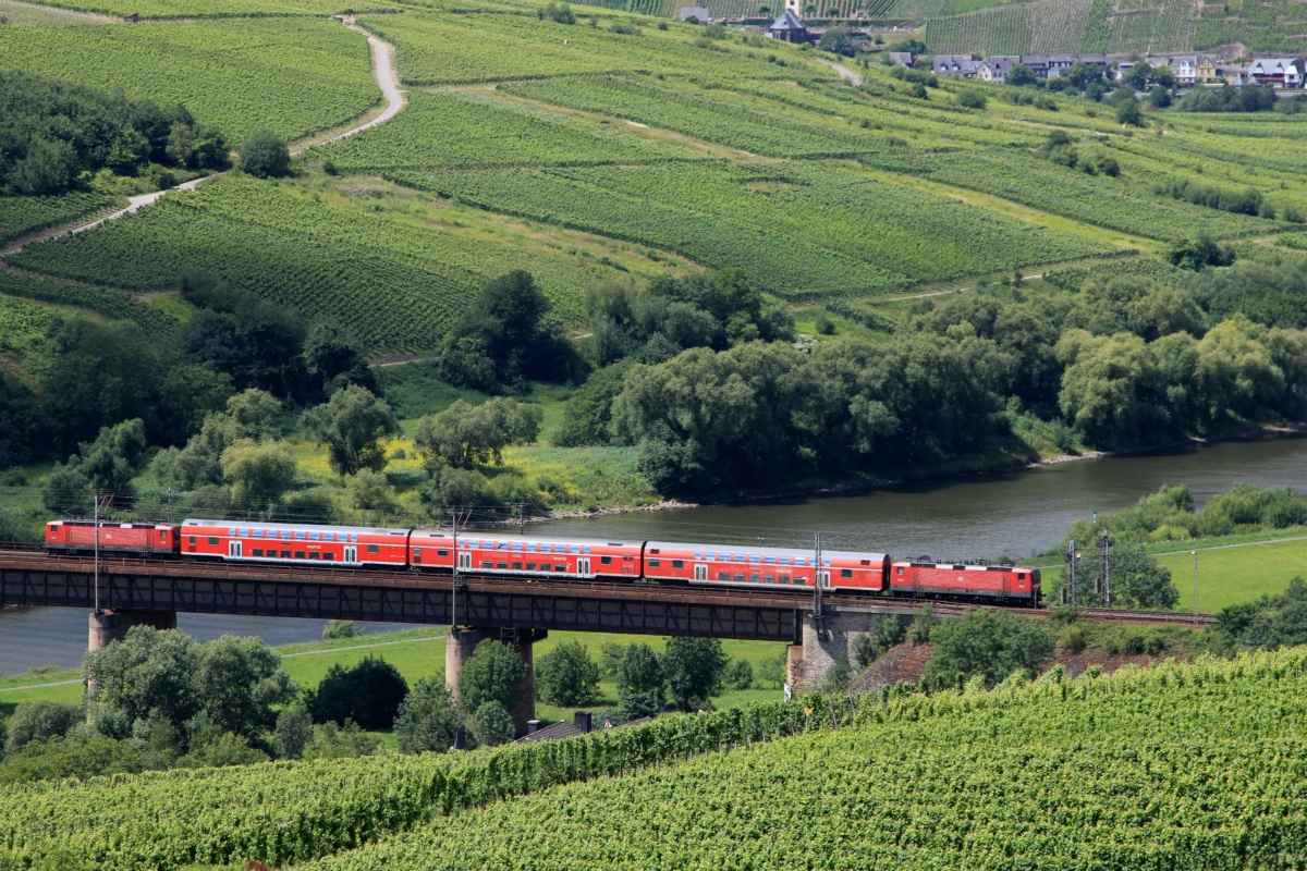 The Moselle valley railway